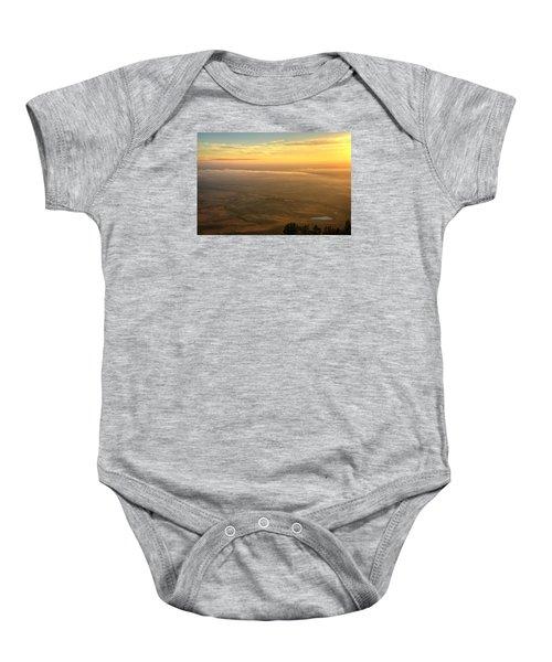 Bighorn Sunrise Baby Onesie