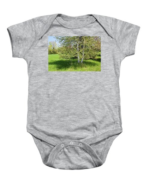 Birch Tree Baby Onesie