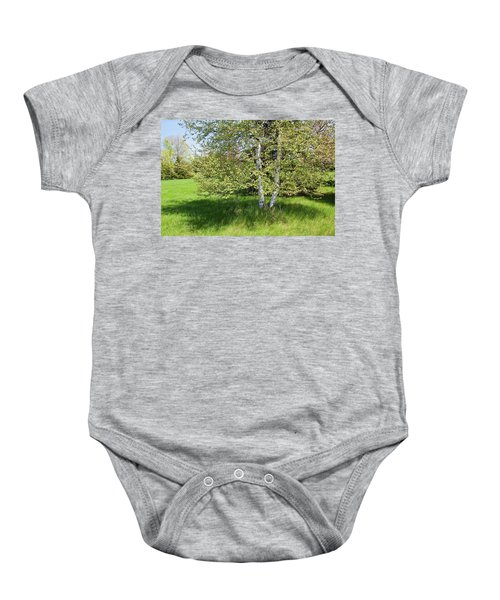 Birch Tree Baby Onesie