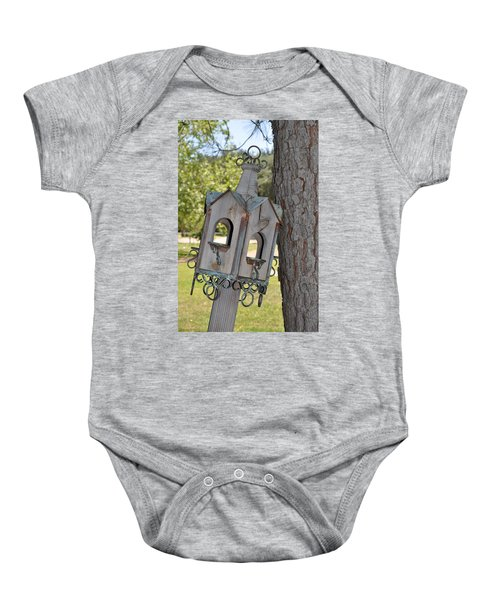 Bird House Baby Onesie