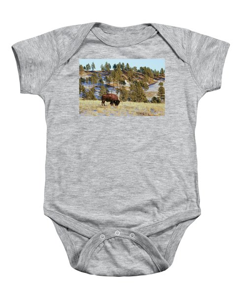 Bison In Custer State Park Baby Onesie