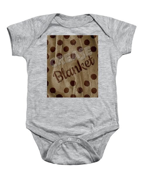 Blanket Baby Onesie by La Reve Design