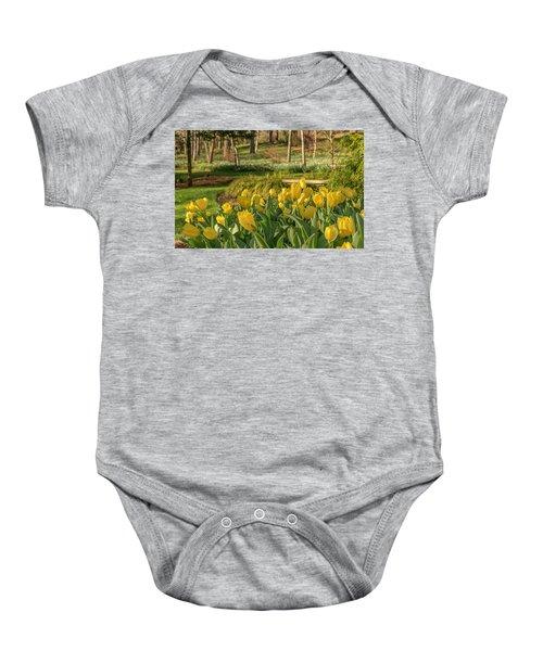 Bloomin Tulips Baby Onesie