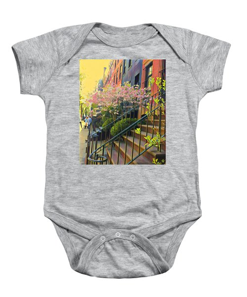 Blooms Of New York Baby Onesie