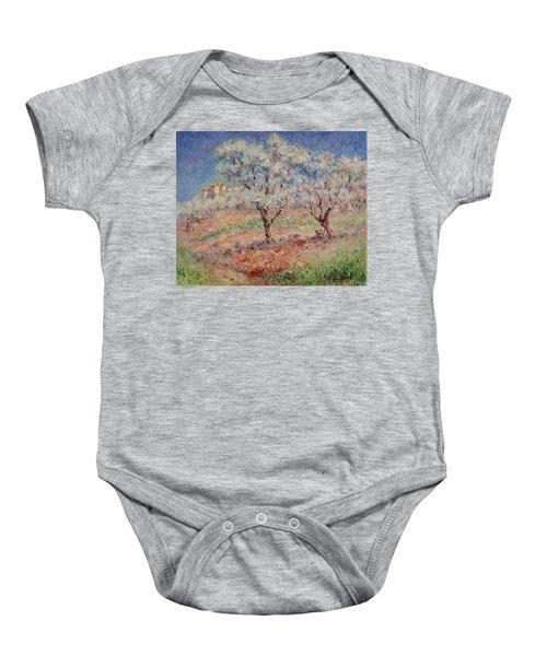 Blossom Trees  Baby Onesie
