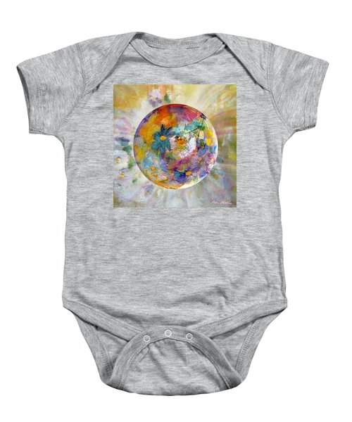 Blossoms In Pastel Baby Onesie