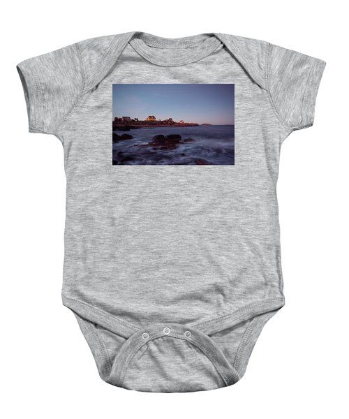 Blue Hour In Gloucester Baby Onesie