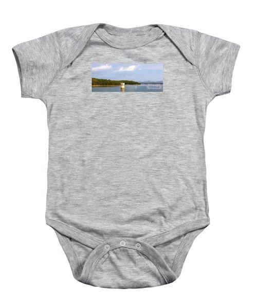 Blue Ridge Dam Baby Onesie