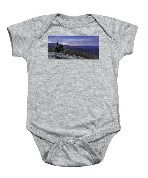 Blue Ridge Parkway Sunrise Baby Onesie