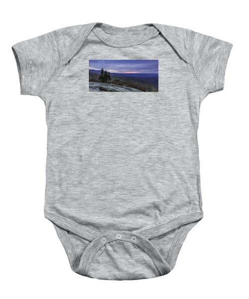 Blue Ridge Parkway Sunrise Baby Onesie