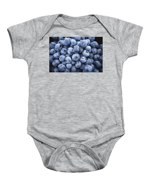 Blueberries Baby Onesie by Happy Home Artistry