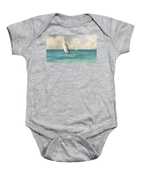 Bluewater Cruising Sailboats Baby Onesie