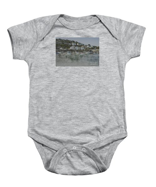 Boats At Looe Baby Onesie