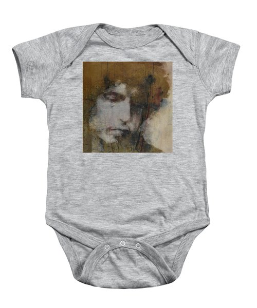 Bob Dylan - The Times They Are A Changin' Baby Onesie