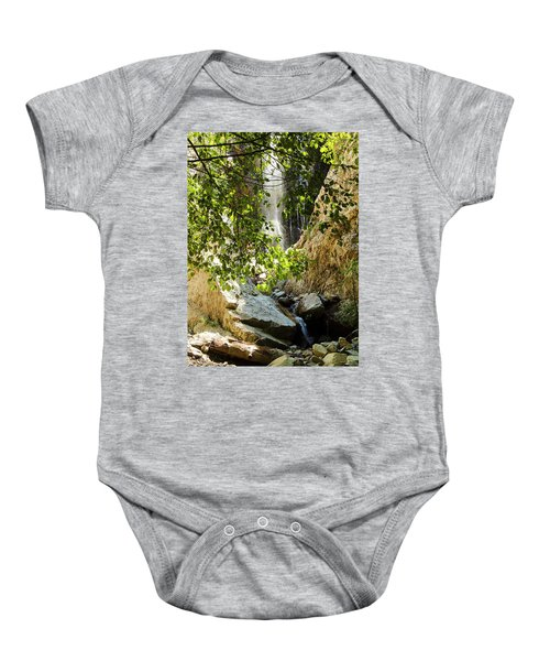 Bonita Falls Through Leaves Baby Onesie