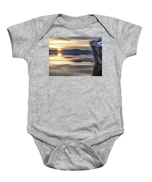Bonsai Sunset Baby Onesie