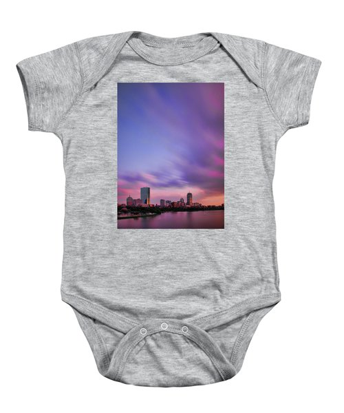 Boston Afterglow Baby Onesie