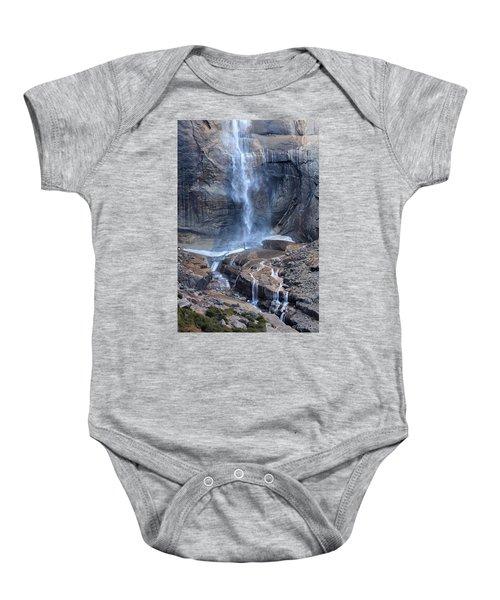 Bottom Part Of Upper Yosemite Waterfall Baby Onesie