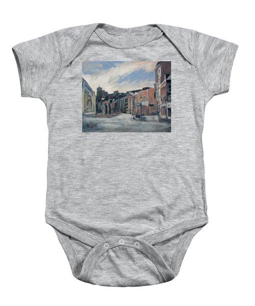 Boulevard La Sauveniere Liege Baby Onesie
