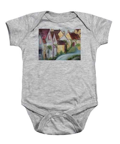 Bourton On The Water Baby Onesie by Roxy Rich