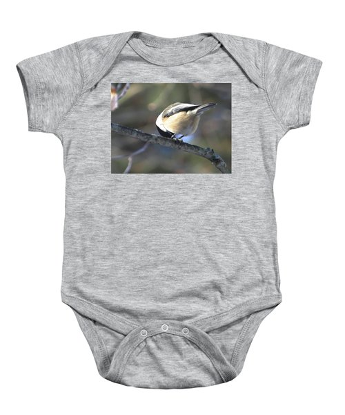 Bowing On A Branch Baby Onesie