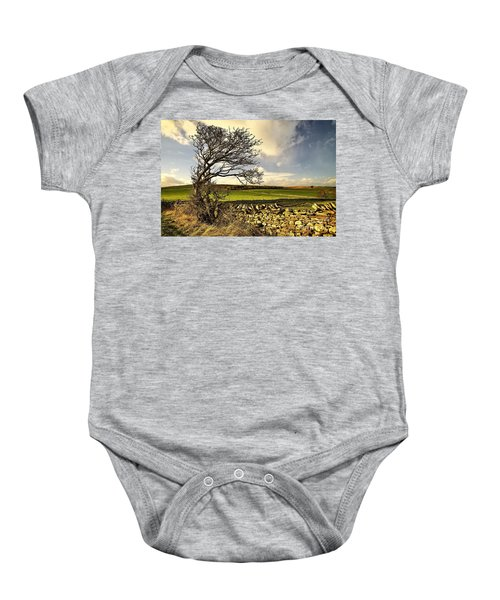 Bowing To The Wind Baby Onesie