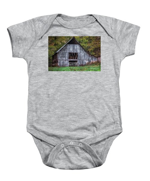 Boxley Valley Barn  Baby Onesie