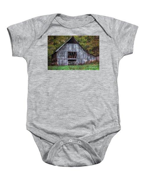 Boxley Valley Barn  Baby Onesie