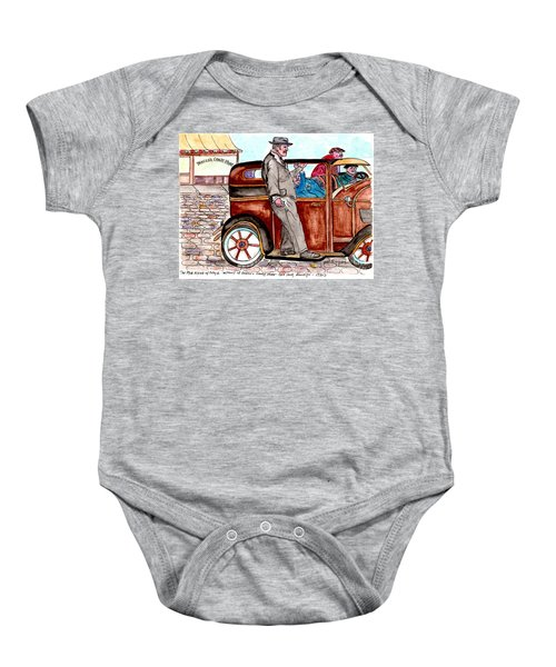Bracco Candy Store - Window To Life As It Happened Baby Onesie
