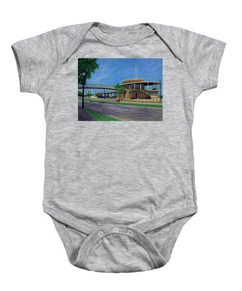 Bradford Beach House Baby Onesie