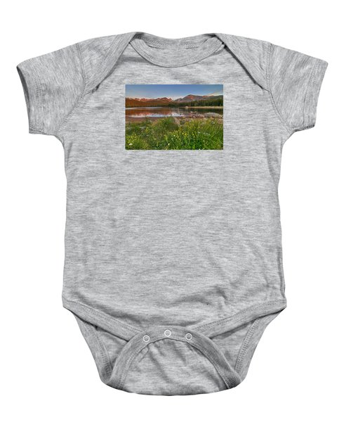 Baby Onesie featuring the photograph Brainard Lake by Gary Lengyel