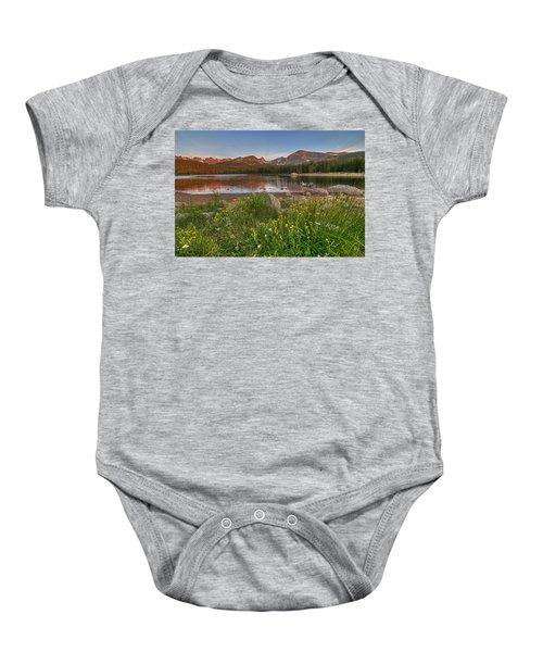 Brainard Lake Baby Onesie