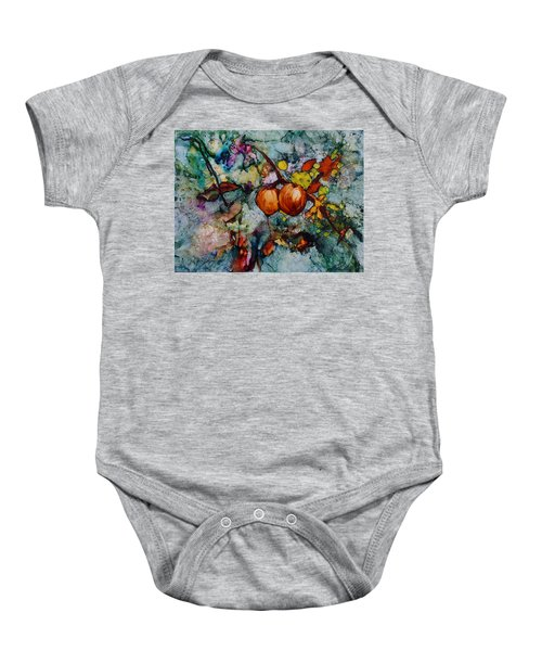 Branches Of Fruit Baby Onesie
