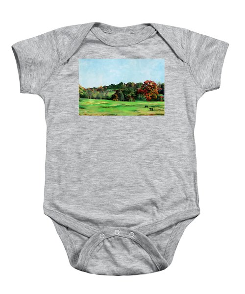 Beaver Valley Baby Onesie