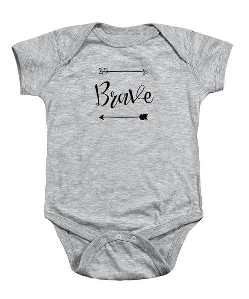 Brave Baby Onesie