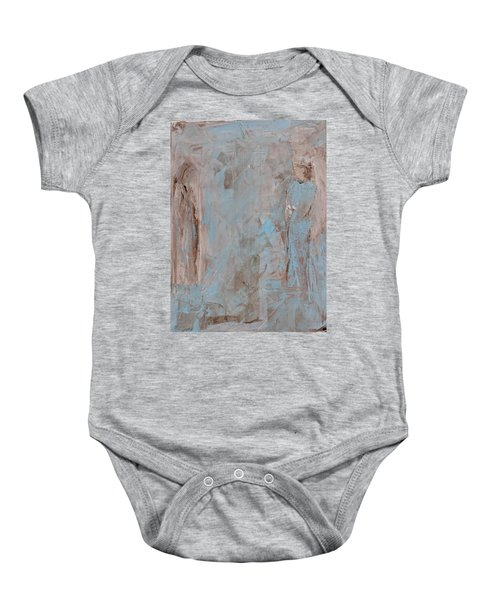 Bride Angel/ Blessed Mother Baby Onesie