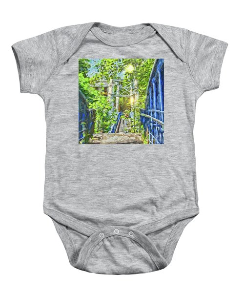 Bridge To Your Dreams Baby Onesie