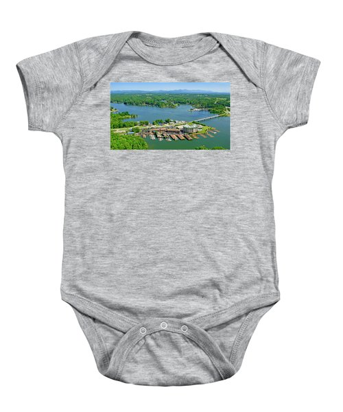 Bridgewater Plaza, Smith Mountain Lake, Virginia Baby Onesie
