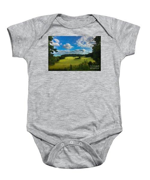 British Countryside Baby Onesie