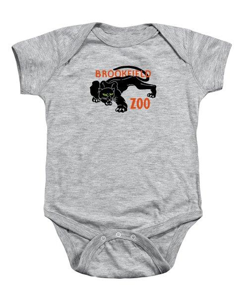 Brookfield Zoo Wpa Baby Onesie by War Is Hell Store