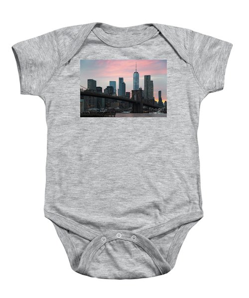 Brooklyn Bridge New York Baby Onesie