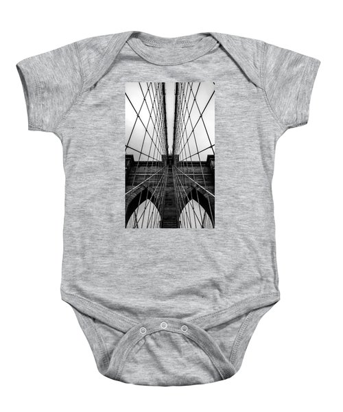 Brooklyn's Web Baby Onesie by Az Jackson