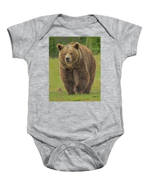 Brown Bear 1 Baby Onesie
