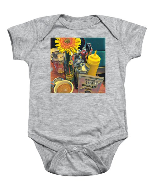 Brunch At Counter Cafe Baby Onesie