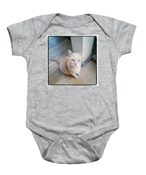 Baby Onesie featuring the photograph Brunch Companion. I Couldn't Resist by Mr Photojimsf