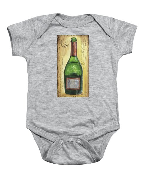 Bubbly Champagne 3 Baby Onesie