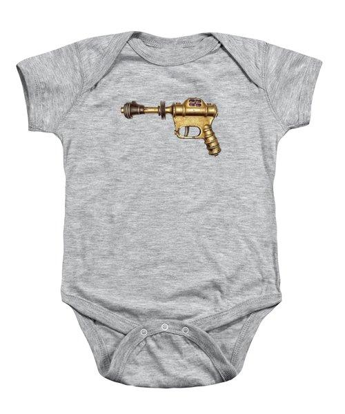 Buck Rogers Ray Gun Baby Onesie by YoPedro