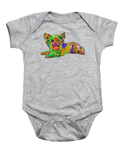 Buddy. Pet Series Baby Onesie