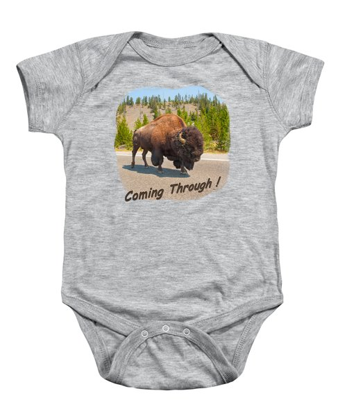 Buffalo Baby Onesie