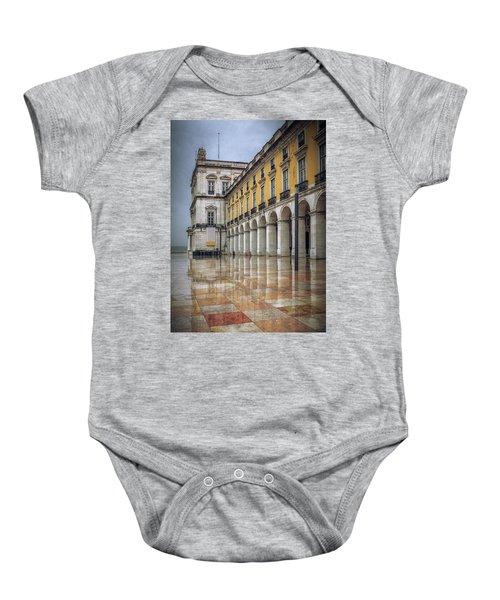 Building Of Terreiro Do Paco Baby Onesie